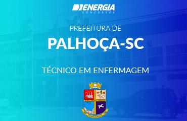 Prefeitura de Palhoça - Técnico em Enfermagem