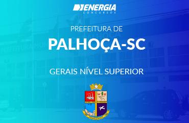 Prefeitura de Palhoça - Gerais nível superior