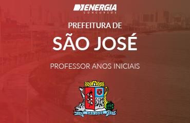 Prefeitura de São José - Professor Anos Iniciais