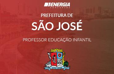 Prefeitura de São José - Professor de Educação Infantil