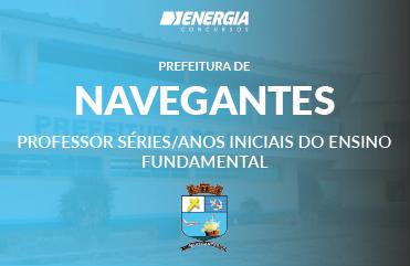 Prefeitura de Navegantes - Professor Séries/Anos Iniciais do Ensino Fundamental