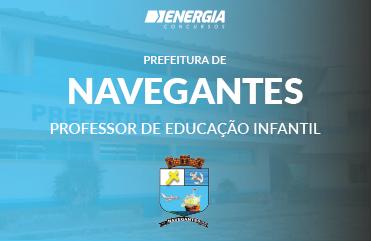 Prefeitura de Navegantes - Professor de Educação Infantil