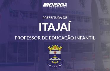 Prefeitura de Itajaí - Professor de Educação Infantil
