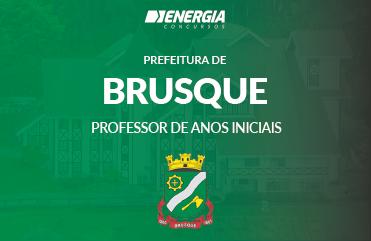 Prefeitura de Brusque - Professor de Anos Iniciais