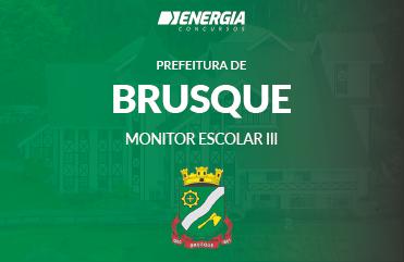 Prefeitura de Brusque - Monitor Escolar III