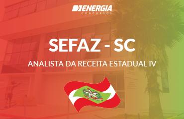 SEF SC - Analista da Receita Estadual IV
