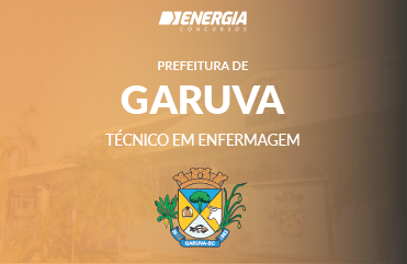 Prefeitura de Garuva - Técnico em Enfermagem