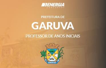Prefeitura de Garuva - Professor de Anos Iniciais