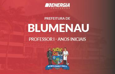 Prefeitura de Blumenau - Professor I - Anos Iniciais