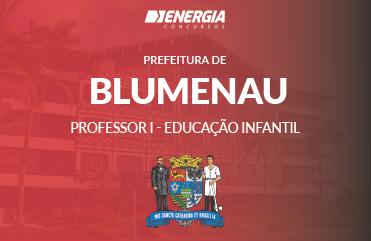 Prefeitura de Blumenau - Professor I - Educação Infantil