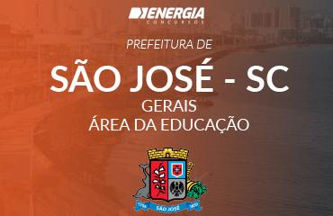 Prefeitura de São José - Gerais área educação