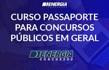 Curso Passaporte para Concursos Públicos em Geral