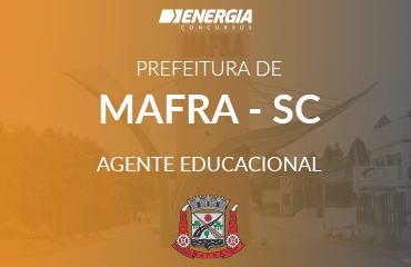 Prefeitura de Mafra - Agente Educacional