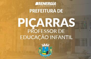 Prefeitura de Balneário Piçarras - Professor de Educação Infantil