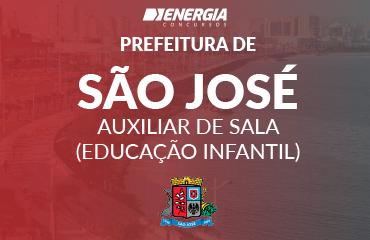 Prefeitura Municipal de São José - Auxiliar de Sala (Educação Infantil)