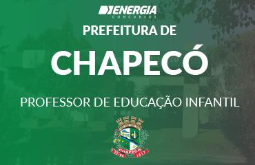 Prefeitura de Chapecó - Professor de Educação Infantil