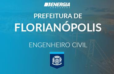 Prefeitura de Florianópolis - Engenheiro Civil
