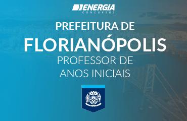 Prefeitura de Florianópolis - Professor de Anos Iniciais