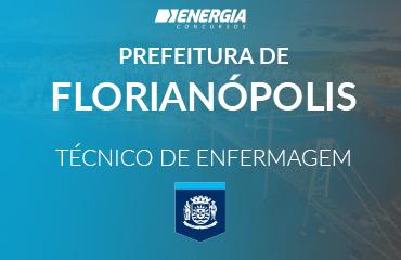 Prefeitura Municipal de Florianópolis - Técnico de Enfermagem