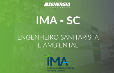 IMA SC - Engenheiro Sanitarista e Ambiental
