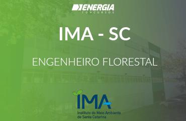 IMA SC - Engenheiro Florestal