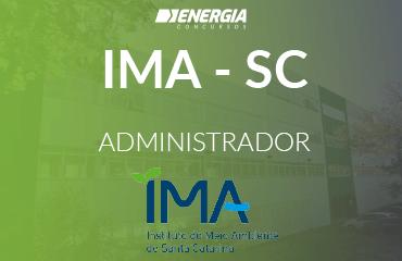 IMA SC - Administrador