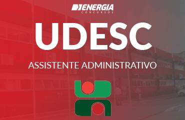 UDESC - Assistente Administrativo