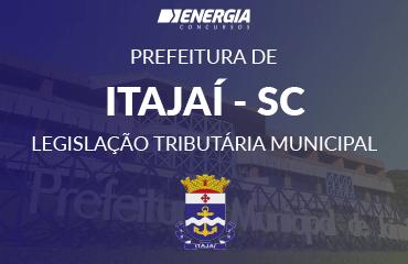 Prefeitura de Itajaí - Legislação Tributária Municipal
