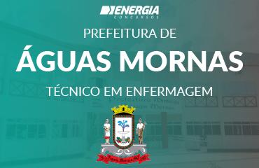 Prefeitura de Águas Mornas - Técnico em Enfermagem