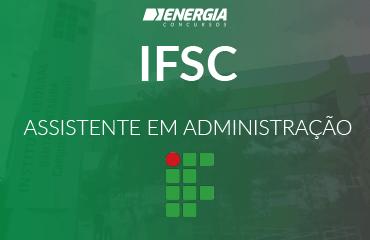 IFSC - Assistente em Administração