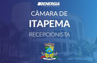 Câmara de Itapema - Recepcionista