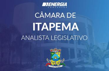 Câmara de Itapema - Analista Legislativo