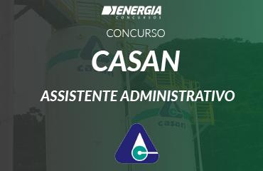 Casan - Assistente Administrativo
