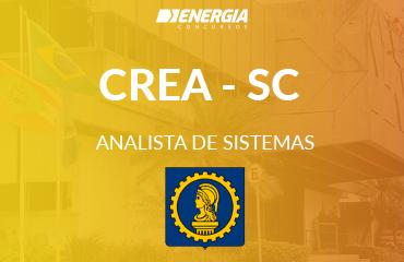 CREA -SC - Analista de Sistemas