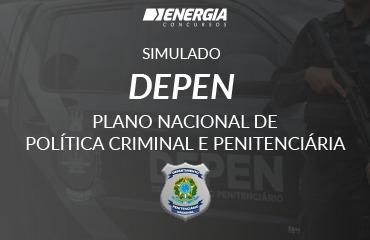 Simulado DEPEN - Plano Nacional de Política Criminal e Penitenciária