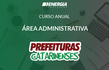 Curso anual - área administrativa