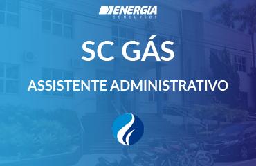 SCGÁS - Assistente Administrativo