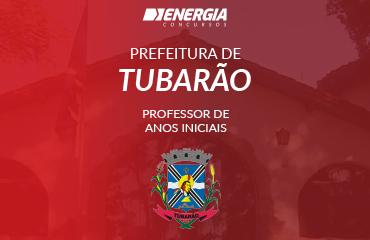 Prefeitura de Tubarão - Professor de Anos Iniciais