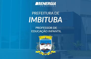 Prefeitura de Imbituba - Professor de Educação Infantil