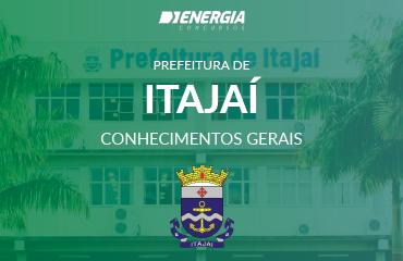 Prefeitura de Itajaí - Conhecimentos Gerais