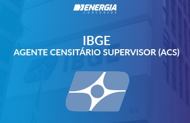 IBGE - Agente Censitário Supervisor (ACS)