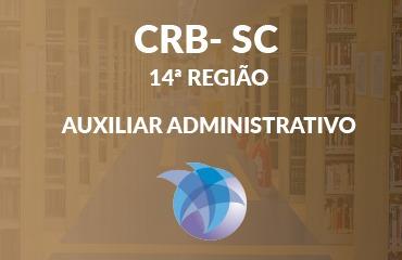 CRB SC 14º Região - Auxiliar Administrativo