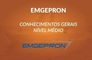 EMGEPRON - Conhecimentos Gerais nível médio