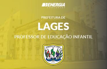 Prefeitura de Lages - Professor de Educação Infantil