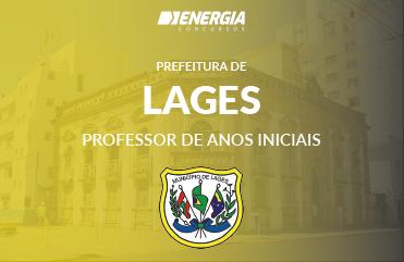Prefeitura de Lages - Professor de Anos Iniciais