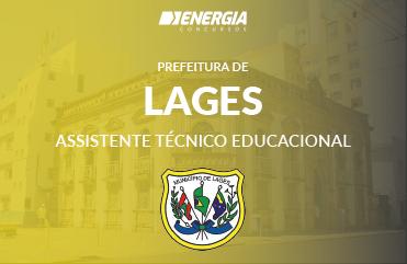 Prefeitura de Lages - Assistente Técnico Educacional