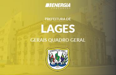Prefeitura de Lages - Gerais Quadro Geral