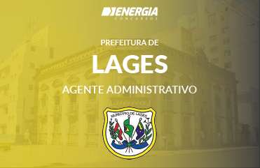 Prefeitura de Lages - Agente Administrativo