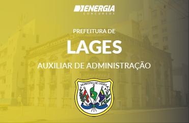 Prefeitura de Lages - Auxiliar de Administração