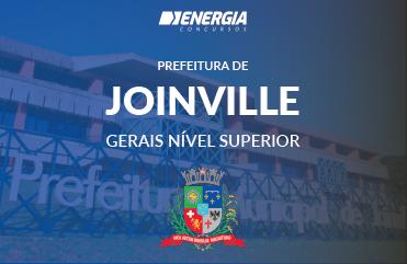 Prefeitura de Joinville - Gerais nível superior